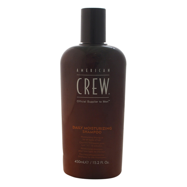 Daily Moisturizing Shampoo by American Crew for Men - 15.2 oz Shampoo