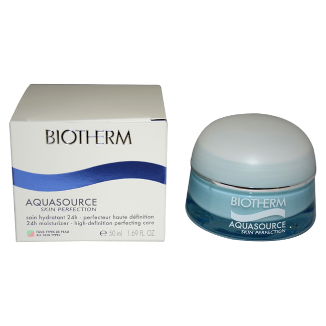 Aquasource Skin Perfection 24h Moisturizer High Definition Perfecting Care by Biotherm for Unisex - 1.69 oz Moisturizer
