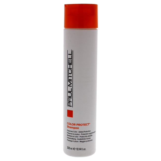 Color Protect Daily Shampoo by Paul Mitchell for Unisex - 10.14 oz Shampoo
