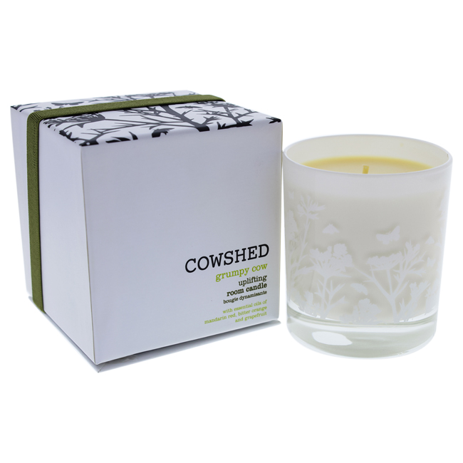 Grumpy Cow Uplifting Room Candle by Cowshed for Unisex - 8.28 oz Candle