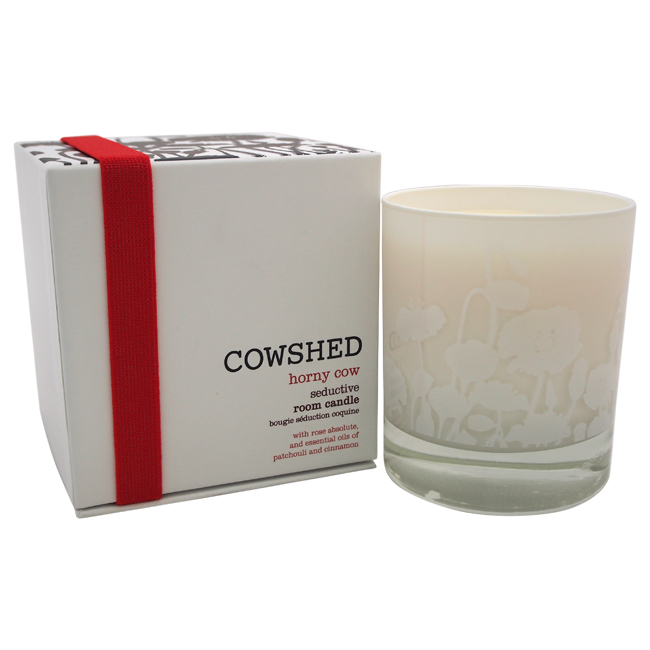 Horny Cow Seductive Room Candle by Cowshed for Women - 8.28 oz Candle