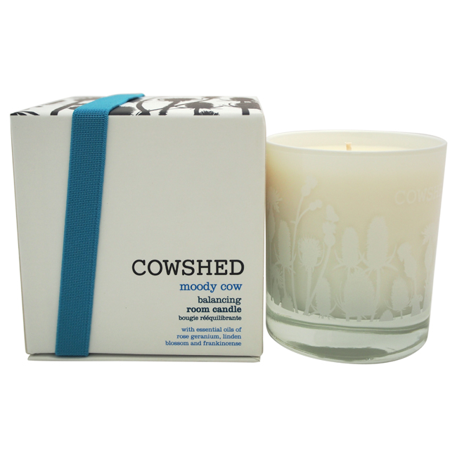 Moody Cow Balancing Room Candle by Cowshed for Unisex - 8.11 oz Candle