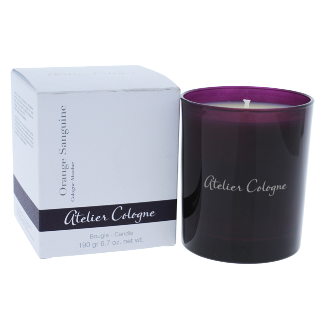 Orange Sanguine Candle by Atelier Cologne for Unisex - 6.7 oz Candle