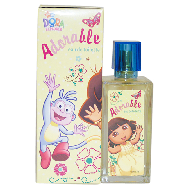 Dora the Explorer Adorable by Marmol & Son for Kids - 3.4 oz EDT Spray