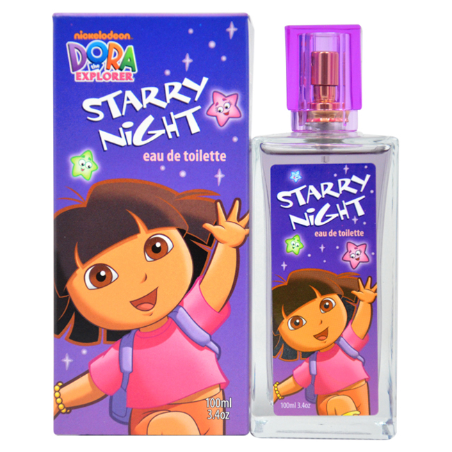 Dora the Explorer Starry Night by Marmol & Son for Kids - 3.4 oz EDT Spray