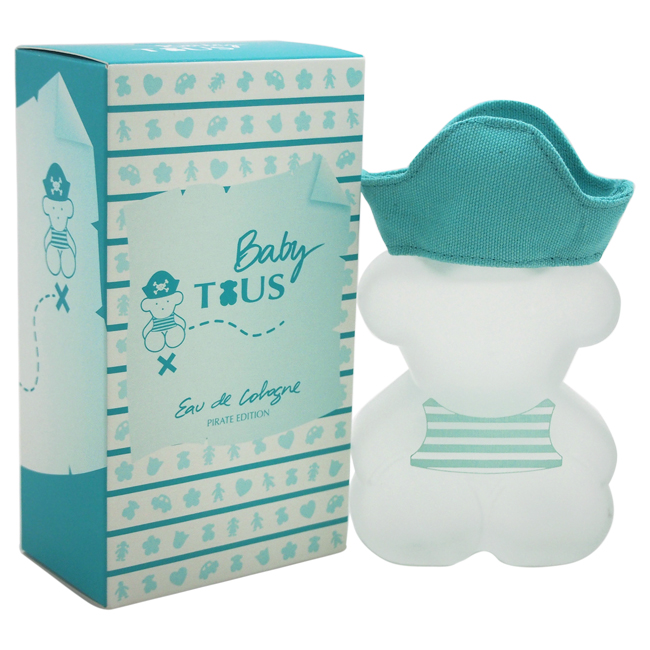 Baby Tous Pirate Edition by Tous for Kids - 3.4 oz EDC Spray (Limited Edition)