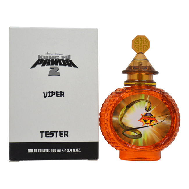 Kung Fu Panda 2 Viper by DreamWorks for Kids - 3.4 oz EDT Spray (Tester)