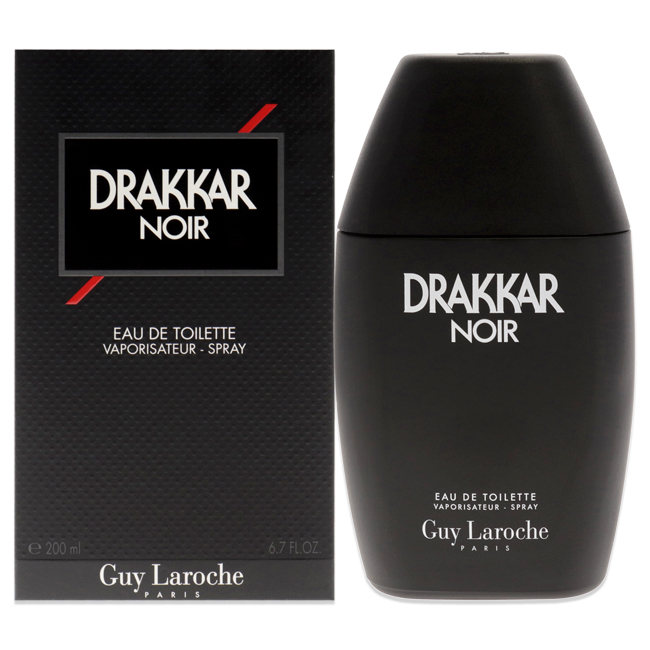 Drakkar Noir by Guy Laroche for Men - 6.7 oz EDT Spray