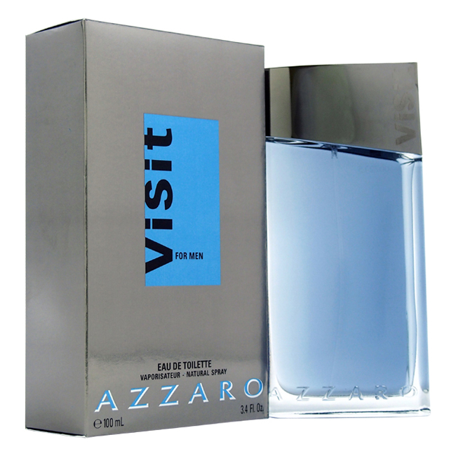 Visit by Loris Loris Azzaro for Men - 3.4 oz EDT Spray