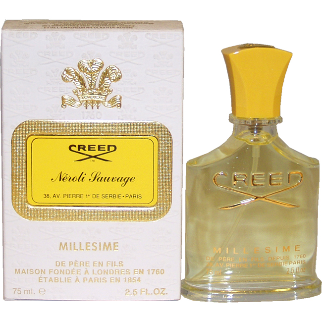 Creed Neroli Sauvage by Creed for Unisex - 2.5 oz Millesime Spray
