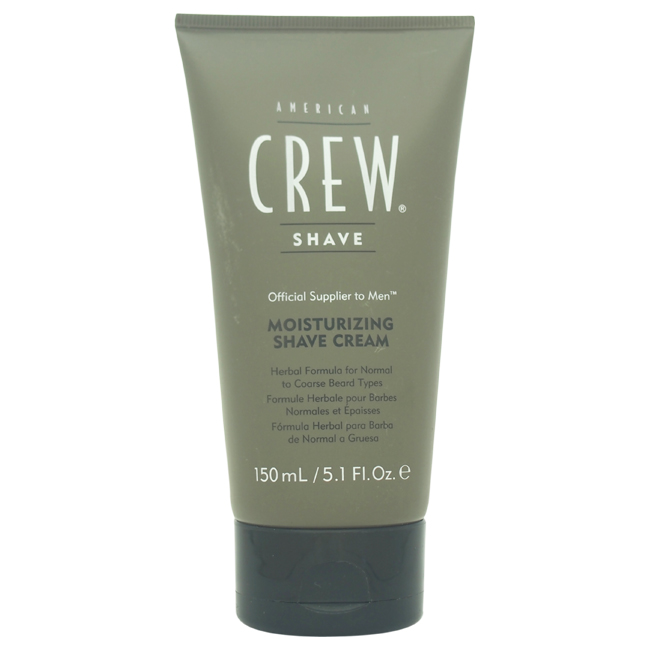 Moisturizing Shave  Cream by American Crew for Men - 5.1 oz Shave Cream
