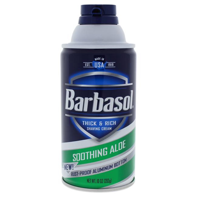 Soothing Aloe Thick & Rich Shaving Cream by Barbasol for Men - 11 oz Shaving Cream