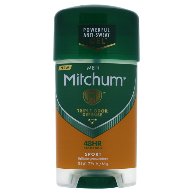 Mitchum Power Gel Sport Antiperspirant And Deodorant by Revlon for Men - 2.25 oz Deodorant Stick