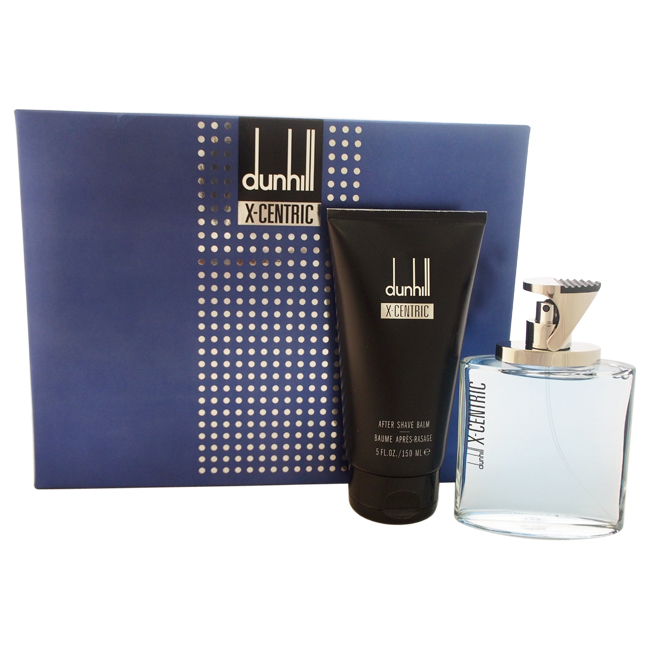 Dunhill X-Centric by Alfred Dunhill for Men - 2 Pc Gift Set 3.4oz EDT Spray, 5oz After Shave Balm