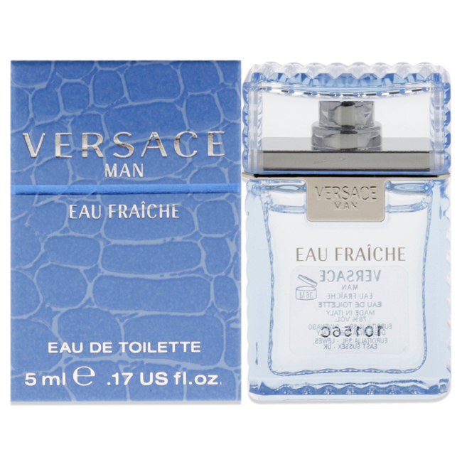 Versace Man Eau Fraiche by Versace for Men - 5 ml EDT Splash (Mini)
