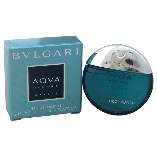 Bvlgari Aqva Marine by Bvlgari for Men - 0.17 oz EDT Splash (Mini)