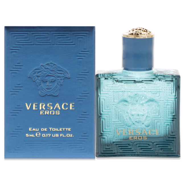 Versace Eros by Versace for Men - 0.17 oz EDT Splash (Mini)