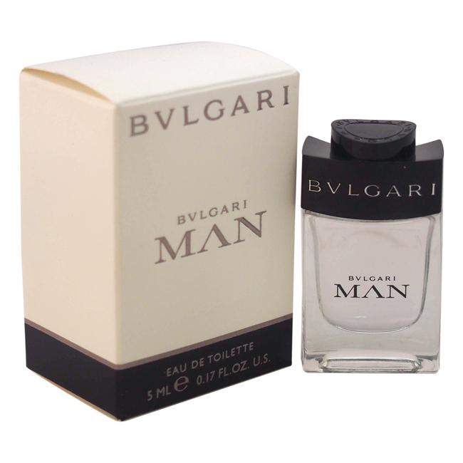 Bvlgari Man by Bvlgari for Men - 0.17 oz EDT Splash (Mini)