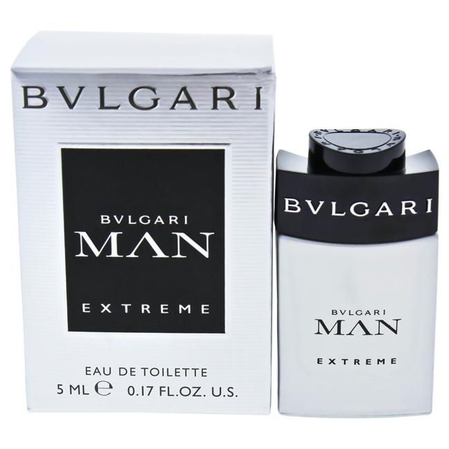 Bvlgari Man Extreme by Bvlgari for Men - 0.17 oz EDT Splash (Mini)