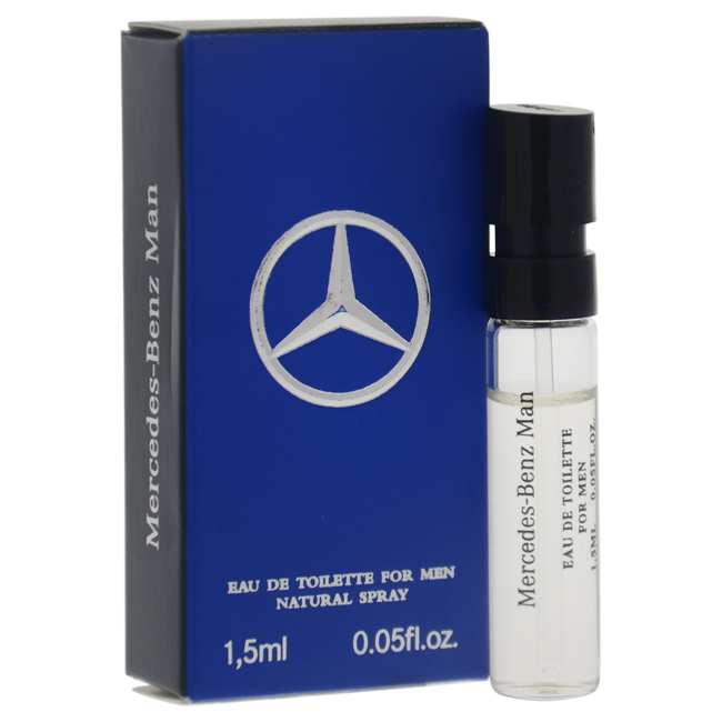 Mercedes-Benz Man by Mercedes-Benz for Men - 0.05 oz EDT Spray Vial (Mini)