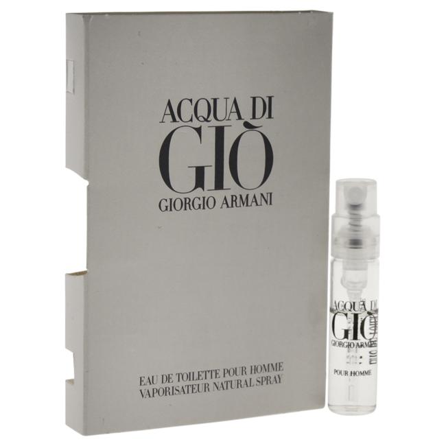 Acqua Di Gio by Giorgio Armani for Men - 0.05 oz EDT Spray Vial (Mini)
