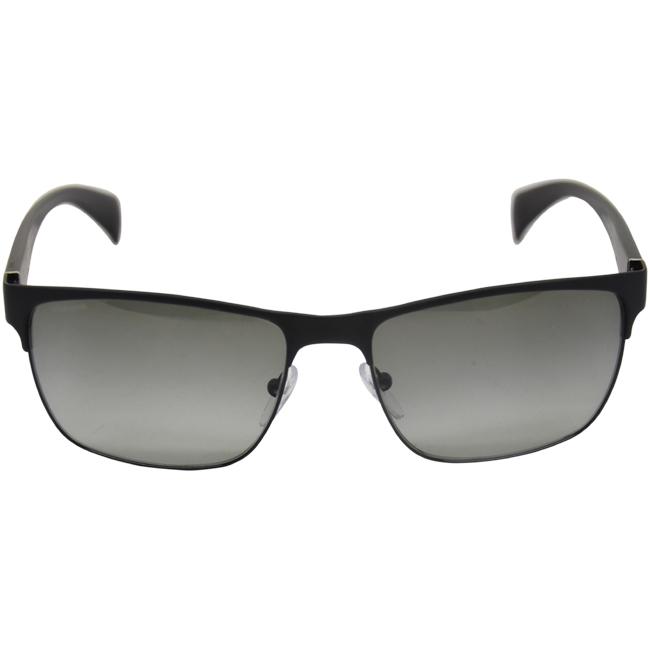 Prada PR 51OS FAD3M1 Black/Grey by Prada for Men - 57-17-140 mm Sunglasses