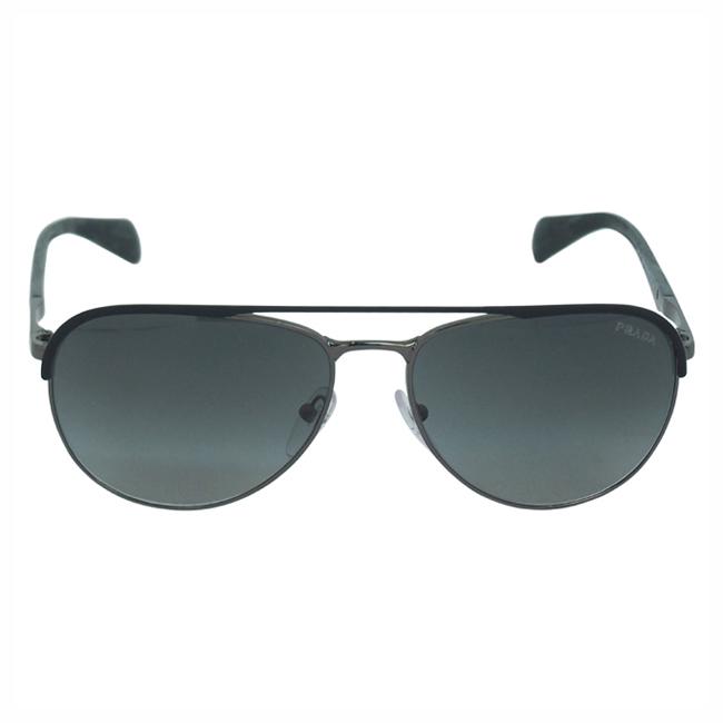 Prada PR 51Q GAQ2D0 - Matte Black/Gunmetal by Prada for Men - 59-16-140 mm Sunglasses