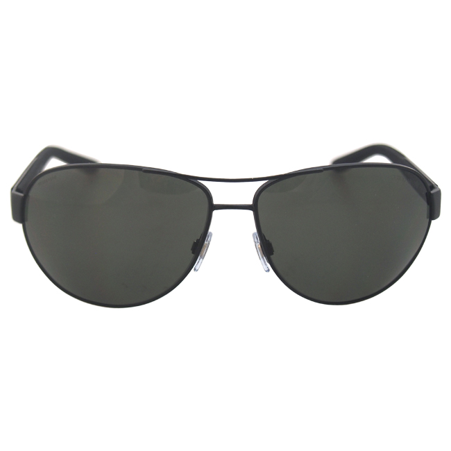 Giorgio Armani AR 6025 3001/9A - Matte Black Polarized by Giorgio Armani for Men - 65-14-125 mm Sunglasses