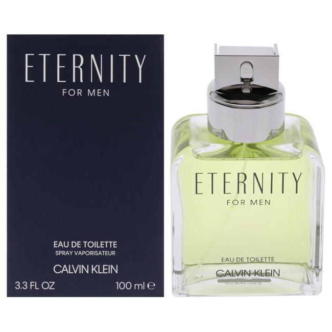 Eternity by Calvin Klein for Men - 3.4 oz EDT Spray Tester