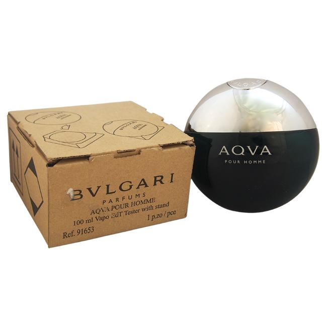 Bvlgari Aqva by Bvlgari for Men - 3.3 oz EDT Spray (Tester)