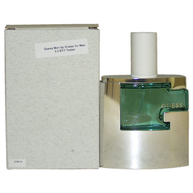 Guess Man by Guess for Men - 2.5 oz EDT Spray (Tester)