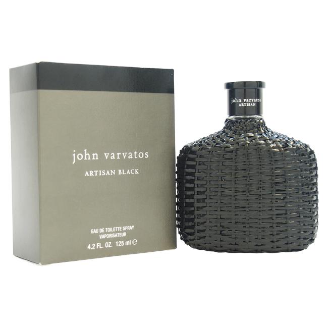 John Varvatos Artisan Black by John Varvatos for Men - 4.2 oz EDT Spray (Unboxed)