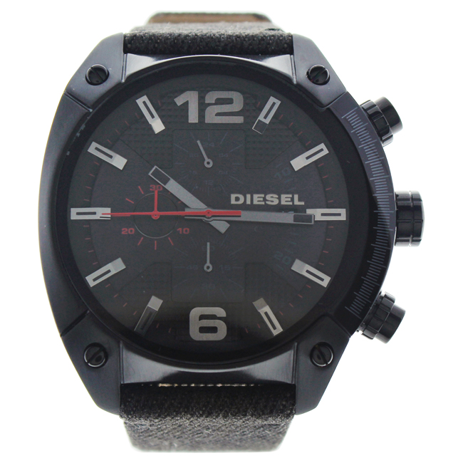 DZ4373 Overflow Black Dial Chronograph Watch by Diesel for Men - 1 Pc Watch
