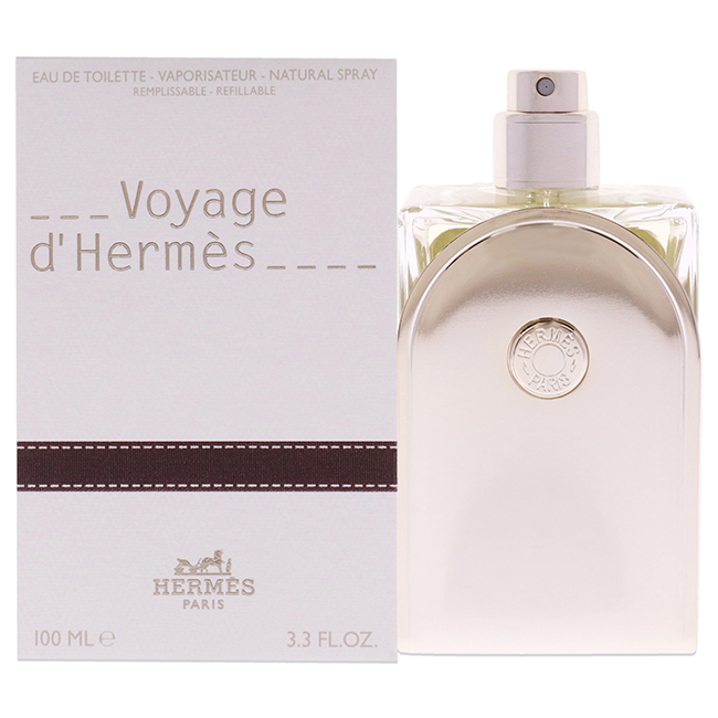 Voyage D'Hermes by Hermes for Unisex - 3.3 oz EDT Spray (Refillable)