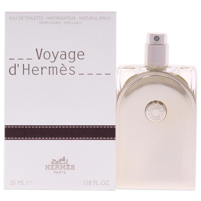 Voyage D'Hermes by Hermes for Unisex - 1.18 oz EDT Spray (Refillable)