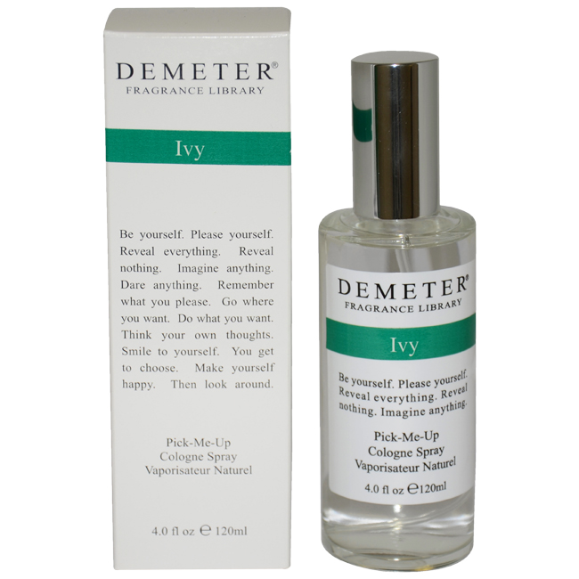 Ivy by Demeter for Unisex - 4 oz Cologne Spray
