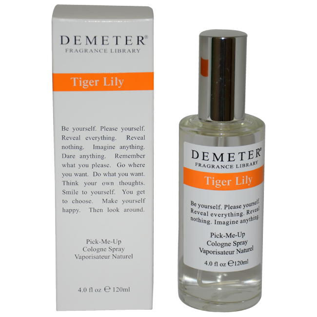 Tiger Lily by Demeter for Unisex - 4 oz Cologne Spray