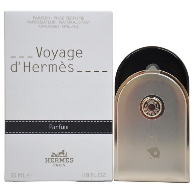 Voyage D'Hermes by Hermes for Unisex - 1.18 oz Pure Perfume (Refillable)