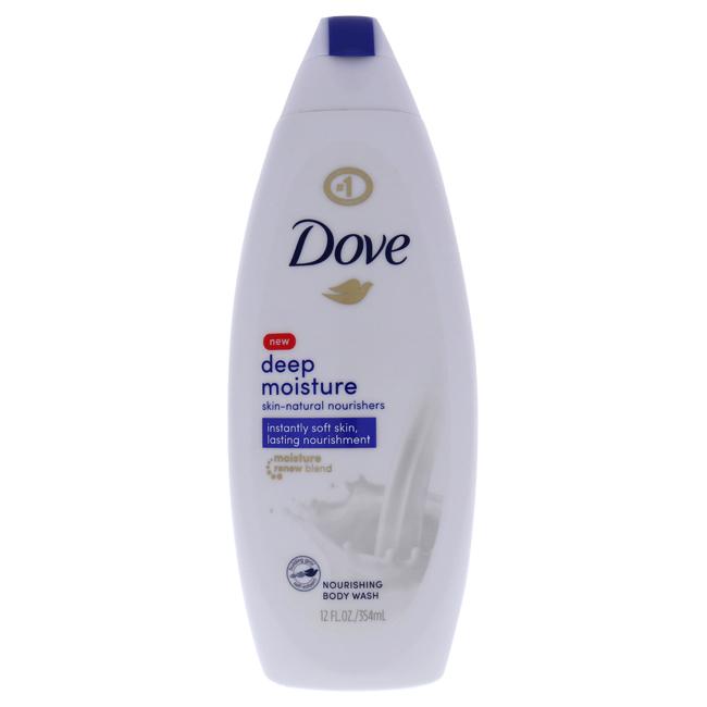 Deep Moisture Nourishing Body Wash with NutriumMoisture by Dove for Unisex - 12 oz Body Wash
