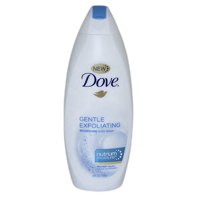 Gentle Exfoliating Nourishing Body Wash with NutriumMoisture by Dove for Unisex - 24 oz Body Wash