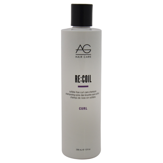 Recoil Sulfate-Free Curl Care Shampoo by AG Hair Cosmetics for Unisex - 10 oz Shampoo
