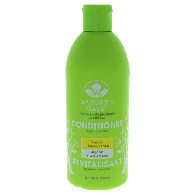 Jojoba Revitalizing Conditioner by Nature's Gate for Unisex - 18 oz Conditioner