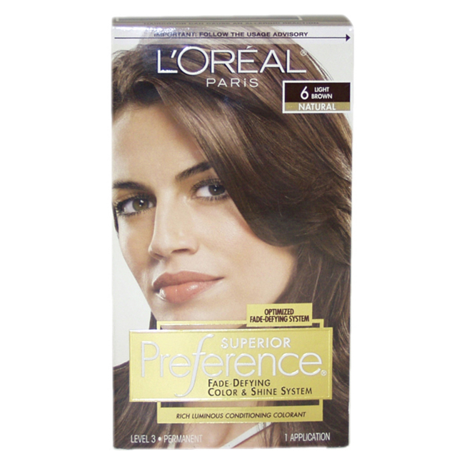 Loreal hair color chart superior preference