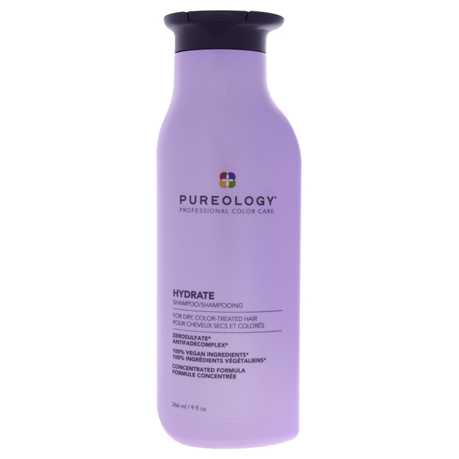 Hydrate Shampoo by Pureology for Unisex - 8.5 oz Shampoo