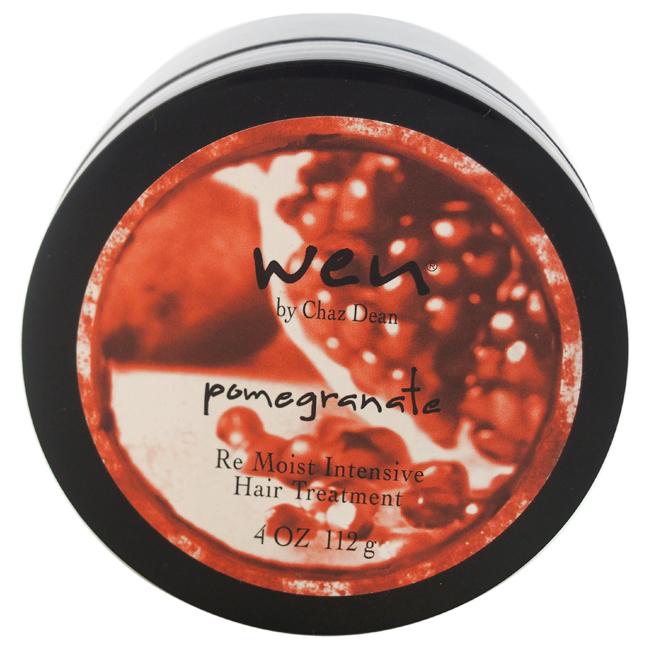Wen Pomegranate Re Moist Intensive Hair Treatment by Chaz Dean for Unisex - 4 oz Treatment