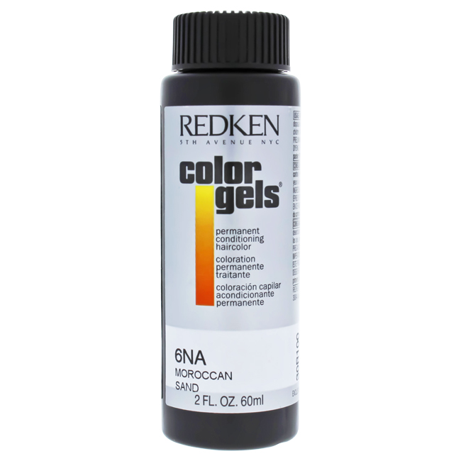 Color Gels Permanent Conditioning Haircolor 6NA - Moroccan Sand by Redken for Unisex - 2 oz Hair Color