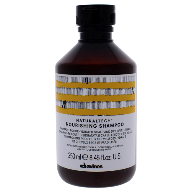 Naturaltech Nourishing Shampoo by Davines for Unisex - 8.45 oz Shampoo
