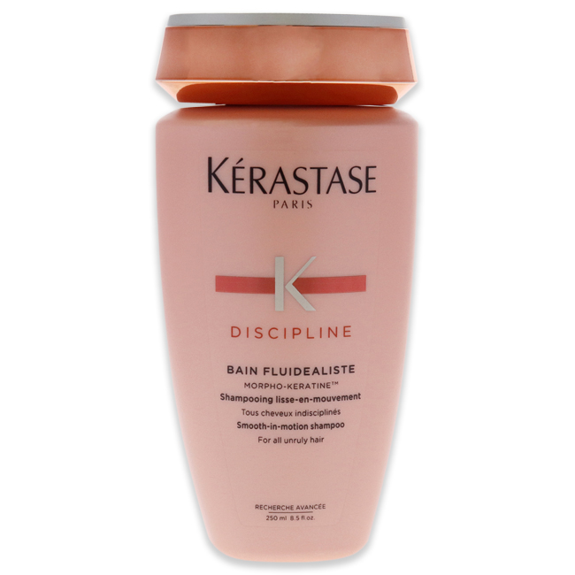 Discipline Bain Fluidealiste Smooth-in-Motion Shampoo by Kerastase for Unisex - 8.5 oz Shampoo