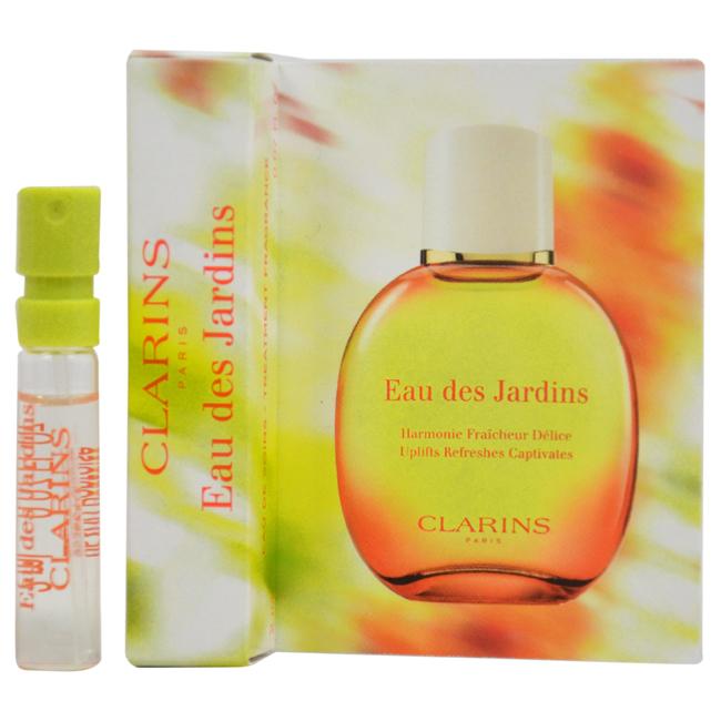 Eau De Jardins Treatment Fragrance by Clarins for Unisex - 0.07 oz Fragrance Spray (Mini)