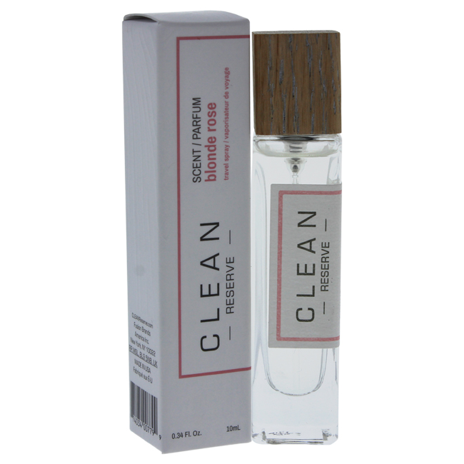 Reserve Blonde Rose by Clean for Unisex - 0.34 oz EDP Spray (Mini)